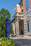 Richard Wagner leitet Bayreuth Stockbild