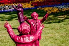 Richard Wagner leitet Bayreuth Stockfotografie