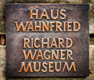 Richard Wagner Museum Stock Image