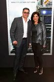 Richard Wakile, Kathy Wakile. NEW YORK-MAR 4: Richard Wakile L and Kathy Wakile attend the premiere of `Chappie` at AMC Loews Lincoln Square on March 4, 2015 in Stock Photos
