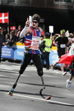 Richard Whitehead - ING New York City Marathon, Stock Image