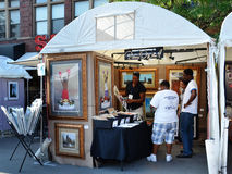 Richard Wilson at Ann Arbor Art Fair Stock Image
