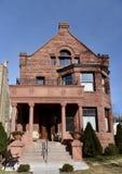 Richardsonian罗马式豪宅 免版税图库摄影