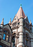 Richardsonian Romanesque Revival Architecture in Heritage Building in Toronto Royalty Free Stock Images