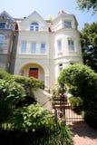 Richardsonian Romanesque Row House Home Washington Royalty Free Stock Image