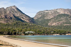 Richardsons Beach, Freycinet National Park stock photography