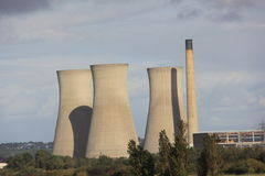 Richborough Power Station Stock Photography