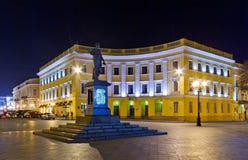 richelieu Украина odessa памятника duke Стоковое Изображение