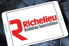 Richelieu narzędzia firmy logo Zdjęcia Stock