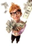 riches heureux de ballot Image libre de droits
