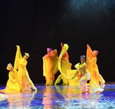Riches and honour-The dance drama The legend of the Condor Heroes Royalty Free Stock Photos