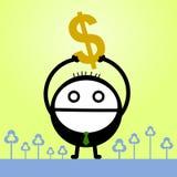 Richesse obtenue Image libre de droits
