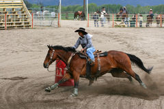 Richest Indian Rodeo Stock Photos