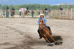 Richest Indian Rodeo Royalty Free Stock Photography