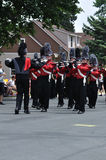 Richfield High School Marching Band in a Parade Stock Photo