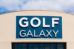Golf Galaxy Retail Store Exterior Stock Photography