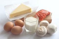 Richfoods för vitamin D Royaltyfri Fotografi