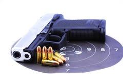 Richiami e pistola Fotografie Stock Libere da Diritti