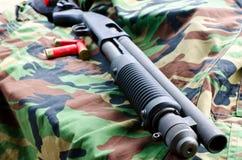 Richiamo del fucile da caccia Immagine Stock Libera da Diritti