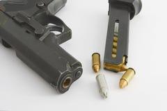 Richiamo e pistola Immagini Stock Libere da Diritti