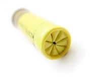 Richiamo giallo Immagine Stock