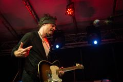 Richie Kotzen σε Circolo Magnolia MI 04-09-2017 Στοκ Φωτογραφία