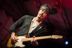 Richie Kotzen at Circolo Magnolia MI 04-09-2017 Stock Photography