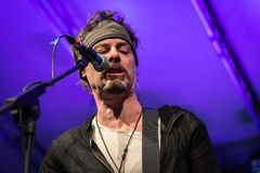 Richie Kotzen at Circolo Magnolia MI 04-09-2017 Stock Image