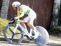 Richie Porte骑自行车者澳大利亚 库存图片