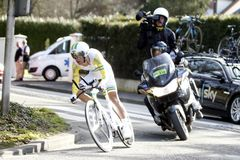 Richie Porte骑自行车者澳大利亚 免版税库存图片
