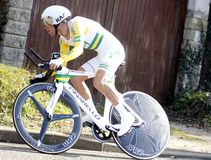 Richie Porte Cyclist Australia Images stock