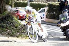 Richie Porte Cyclist Australia Royalty Free Stock Photos