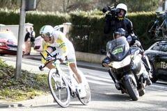 Richie Porte Cyclist Australia Royalty Free Stock Photography