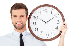 Richieda il vostro tempo! Fotografia Stock