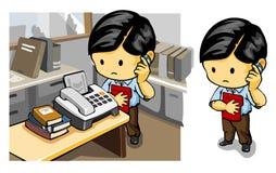 Richiedendo il fax Fotografia Stock Libera da Diritti