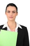 Richiedente di lavoro sicuro Immagine Stock