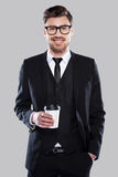 Richiedere tempo per la pausa caffè immagini stock
