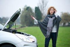 Richiesta della donna per guida