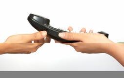 Richiesta di telefono per voi fotografia stock libera da diritti