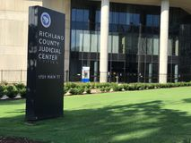 Richland County Judicial Center, Columbia, South Carolina.  stock photography