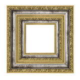 Richly decorated frame Royalty Free Stock Image