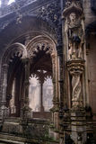 A richly decorated gallery at Bussaco Palace, Portugal Royalty Free Stock Photos