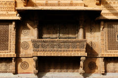 Richly decorated houses in India Stock Images