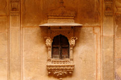 Richly decorated houses in India Stock Photos
