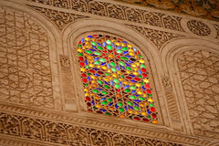 Richly decorated Moroccan building Royalty Free Stock Photography