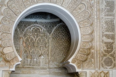 Richly decorated Moroccan building Royalty Free Stock Image