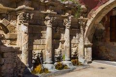 Richly decorated Rimondi fountain Stock Photo