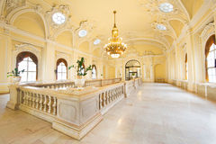 Richly ornamented old style building interior Stock Image