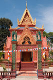 Richly ornamented temple building in Cambodia Stock Photo