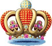 Richly Royal crown Stock Image